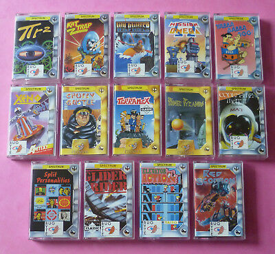Sinclair ZX Spectrum - COLLECTION of BUG-BYTE GAMES 48k 128k