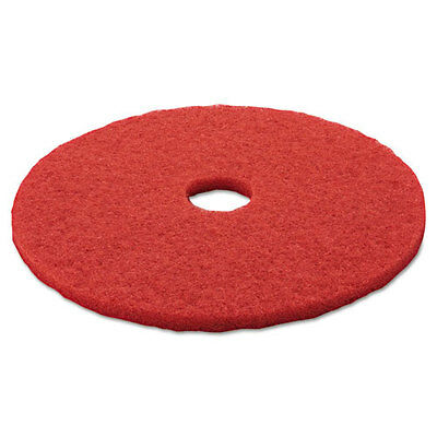 """3M Red Buffer Floor Buffing Pads 5100 Low-Speed Cleaning 20"""" 5/carton {Mmm08395}"""