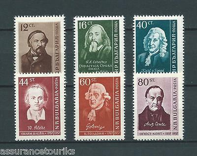 BULGARIE - 1958 YT 915 à 920 - TIMBRES NEUFS** LUXE / MNH