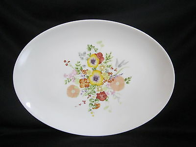 Wedgwood -SUMMER BOUQUET - Oval Platter