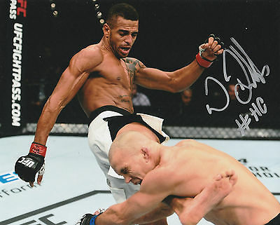 Danny Roberts Signed Auto'd 8X10 Photo Ufc 197 Fight Night Hot Chocolate Mma B