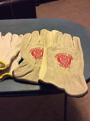 Union Pacific Railroad Gloves With Liners Size Large