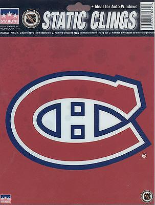 12 Montreal Canadiens 6 inch Static Cling Stickers
