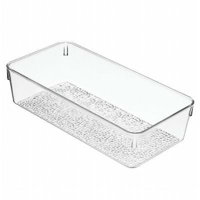 InterDesign 49250 Clear Rain Gr & Organizing Tray 2 , Pack of 6