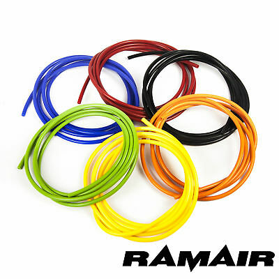 6mm Silicone Vacuum Hose - Tube Pipe Hose Turbo Boost Water Air Coolant Valve