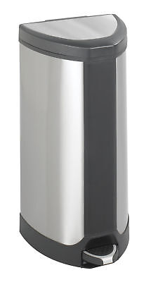 Safco Products Company Receptacle 10 Gallon Step On Trash Can