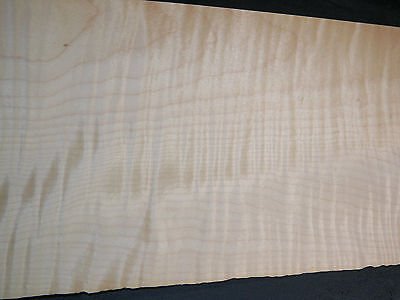 "Curly Maple wood veneer   6.5"" x 56"" inches                              4730-19"