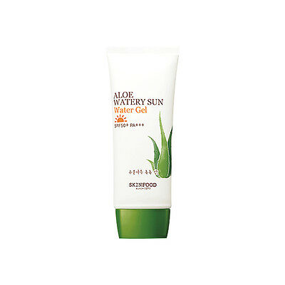 SKINFOOD [Skin Food] Aloe Watery Sun Water Gel SPF50+ PA+++ 50ml Free gifts