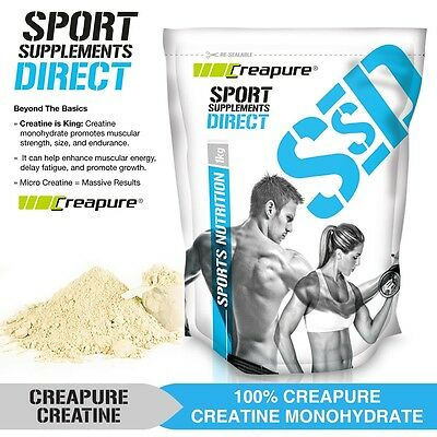 500G Creapure® Creatine Monohydrate - German Grade - 100% Pure & Strength