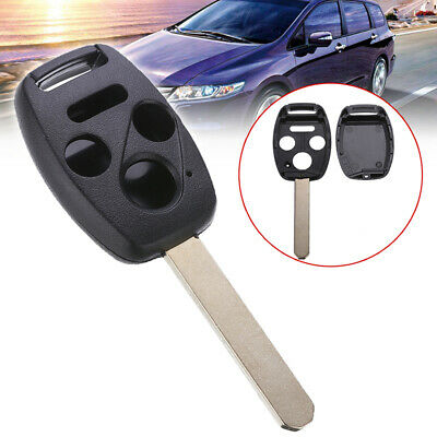 4 Button Remote Key Fob Shell Case Replace Fit for Honda Accord Civic CRV Pilot