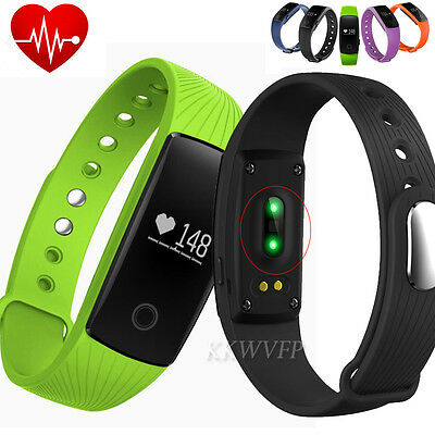Heart Rate Smart Watch Band Bracelet Tracker Sleep Fitness fr Android IOS iPhone