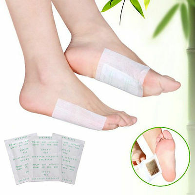 20Pcs Detox Foot Pads Patch Detoxify Toxins Adhesive Keeping Fit Health Care
