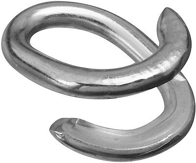 """National Hardware N223-073 3152BC Lap Link, 3/16"""", Steel, Zinc Plated"""