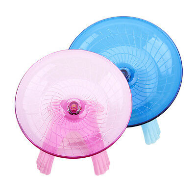 Running Disc Flying Saucer Exercise Wheel for Mice & Dwarf Hamsters 18cm
