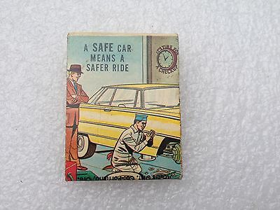 1960's Arco Gas Oil Station S & H Stamps Matchbook Advertising Portland Oregon