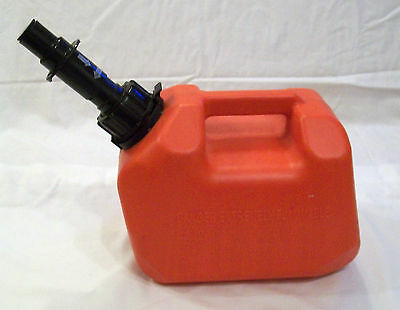 Scepter 1 Gallon Gas Can w/Spill Proof Fueling System & Locking Spout