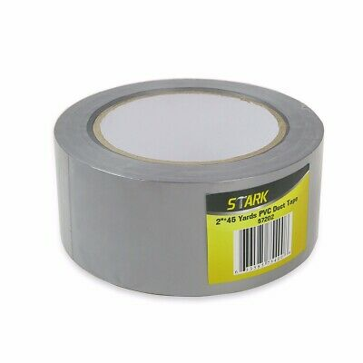 "Touch Duct Tape Multi-use 2"" x 45 Yard Grey Repair Wrapping Sealing Protecting"