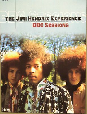 Jimi Hendrix - BBC SESSIONS Limited Edition Promo Poster - Numbered - NM