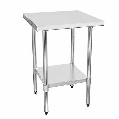 """24"""" x 24"""" Commercial Stainless Steel Work Bench Kitchen Top Catering Table 2x2FT"""