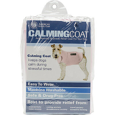 """""""Calming Coat Large 24""""""""-32"""""""" Chest-Pink"""""""