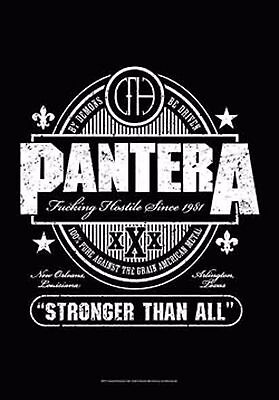 """Pantera Beer Label Stronger Than All Fabric Poster 30"""" X 40"""" !"""