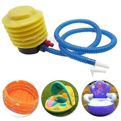 Portable Foot Inflator Air Pump Inflatable For Swimming Ring Yoga Ball Balloon