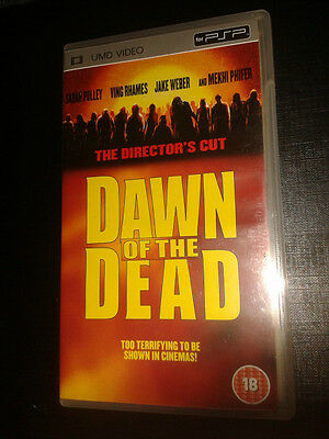 * Sony PSP CLASSIC Film * DAWN OF THE DEAD * UMD