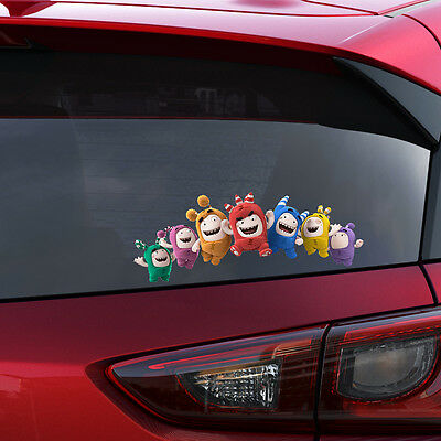 Oddbods Gang Colour Vinyl Decal Window Sticker Car Bumper Body Gift New