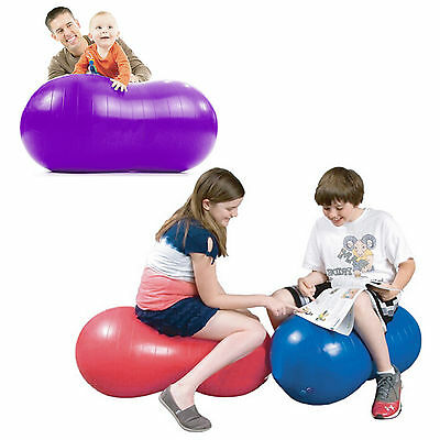Peanut Anti Burst Yoga Swiss Ball GYM Exercise Fitness For Relax&Calm Free Pump