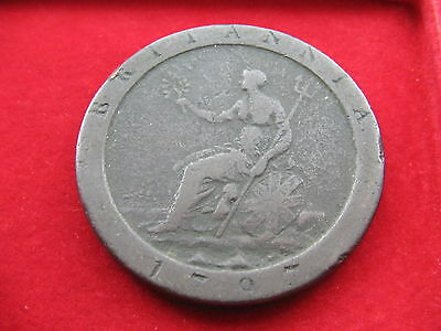 King George Iii 1797 Copper Cartwheel Penny Coin Free Insured Uk Post L78