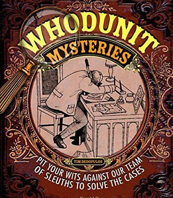 Whodunit Mysteries (Puzzle Books) by Tim Dedopulos Book The Cheap Fast Free Post