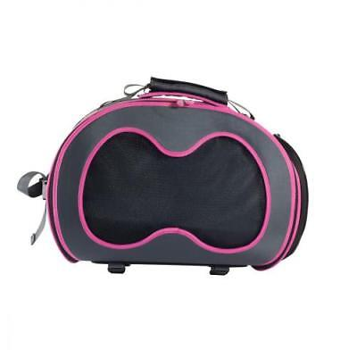Sac de transport chat - Sac Dillo Urban Pet - Gris Rose