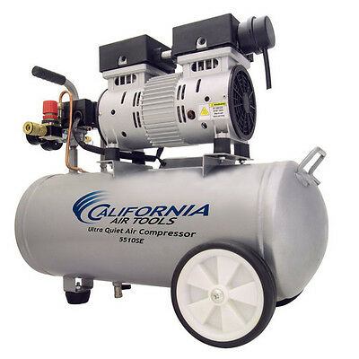 California Air Tools 5510SE 1 HP 5.5 Gal. Steel Air Compressor CAT-5510SE new