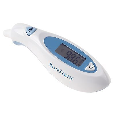 Digital Ear Thermometer Portable Travel Baby Safe Adult Fever Battery Incl