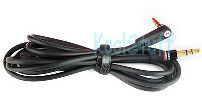 Black Audio Replacement 3.5mm Cable for beats by Dr. Dre headphones