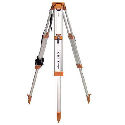 CST/berger Contractor's Aluminum Flat Head Tripod 60-ALQCI20-O New