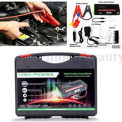 68800mAh Portable Mini Power Bank AUTO Car Jump Starter Vehicle Booster Charger