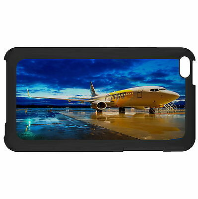 Passenger Airplane In The Dusk Case Cover For Apple ipod Touch New