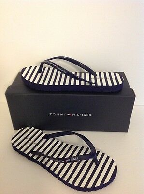Tommy Hilfiger Amma Medium Blue Sy New To The Market 100% Authentic
