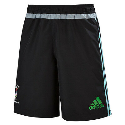 adidas Mens Harlequins Rugby 2015/16 Woven Shorts - All Sizes Available rrp£30