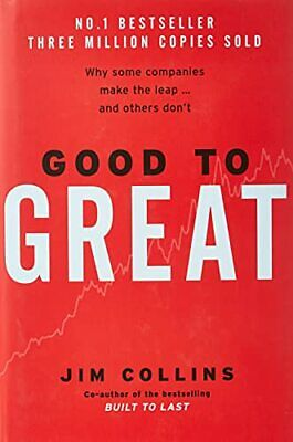 Good To Great by Collins, Jim Hardback Book The Cheap Fast Free Post