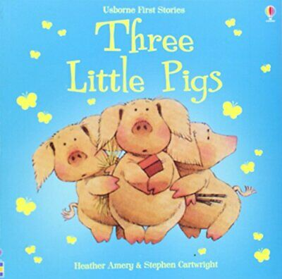 3 Little Pigs (First Stories), Amery, Heather Paperback Book The Cheap Fast Free