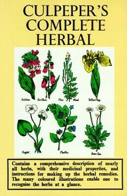 Culpeper's Complete Herbal by Nicholas Culpeper Hardback Book The Cheap Fast