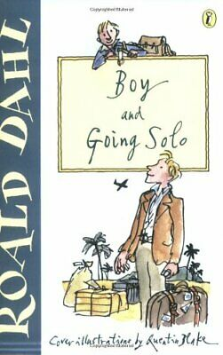 Boy and Going Solo by Dahl, Roald Paperback Book The Cheap Fast Free Post