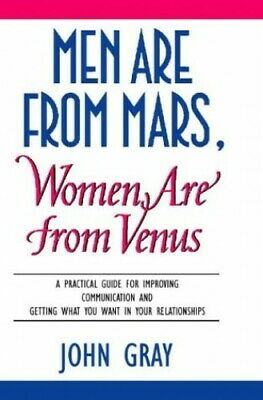 Men Are from Mars, Women Are from Venus by Gray, John Hardback Book The Cheap