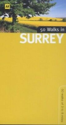 50 Walks in Surrey (50 walks in...) by Foster, David Paperback Book The Cheap
