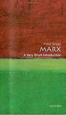 Marx: A Very Short Introduction (Very Short Introd... by Singer, Peter Paperback