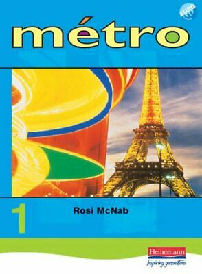 Metro 1 Pupil Book Euro Edition: Pupil Book Level 1 (Metro for... Paperback Book
