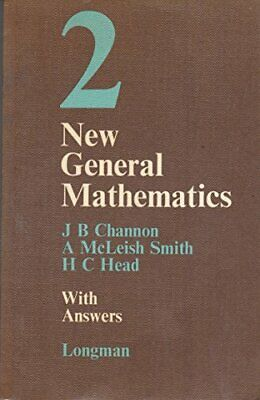 New General Mathematics 2 with answers: W.ans Bk. 2 by Head, H.C. Paperback The