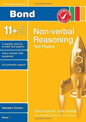 Bond 11+ Test Papers Non-Verbal Reasoning Standard ..., Baines, Andrew Paperback